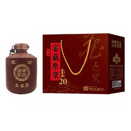 52%vol北京军功窖藏原浆酒(1.5L装)